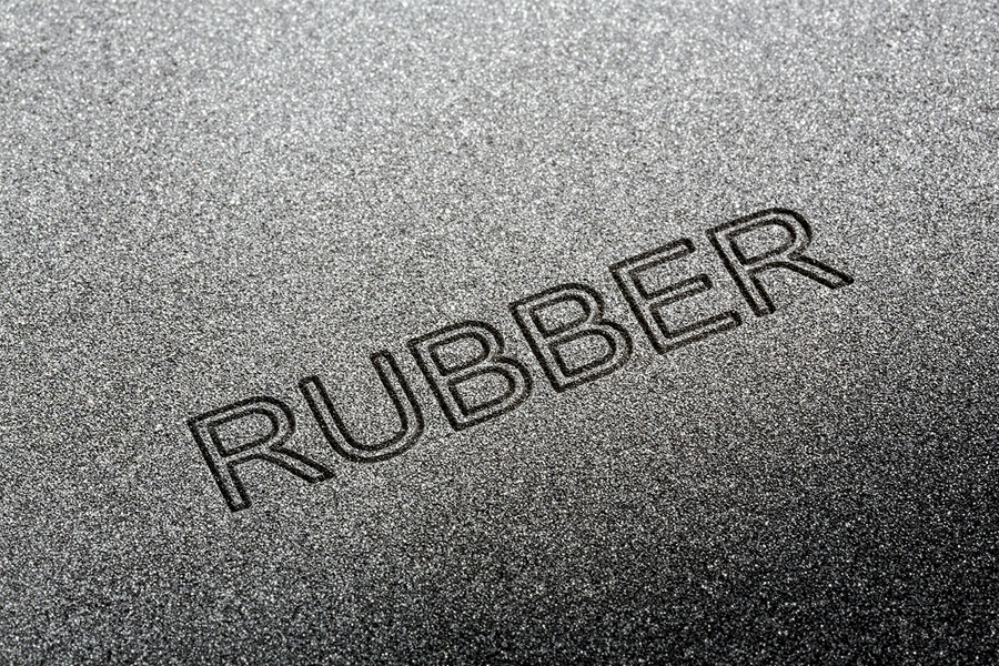Marking and Coding Solutions on Rubber